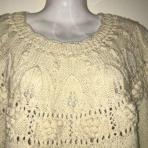 Maine Bay Hand Knit Sweater